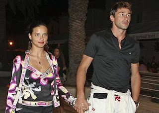 Adriana Lima with Boyfriend