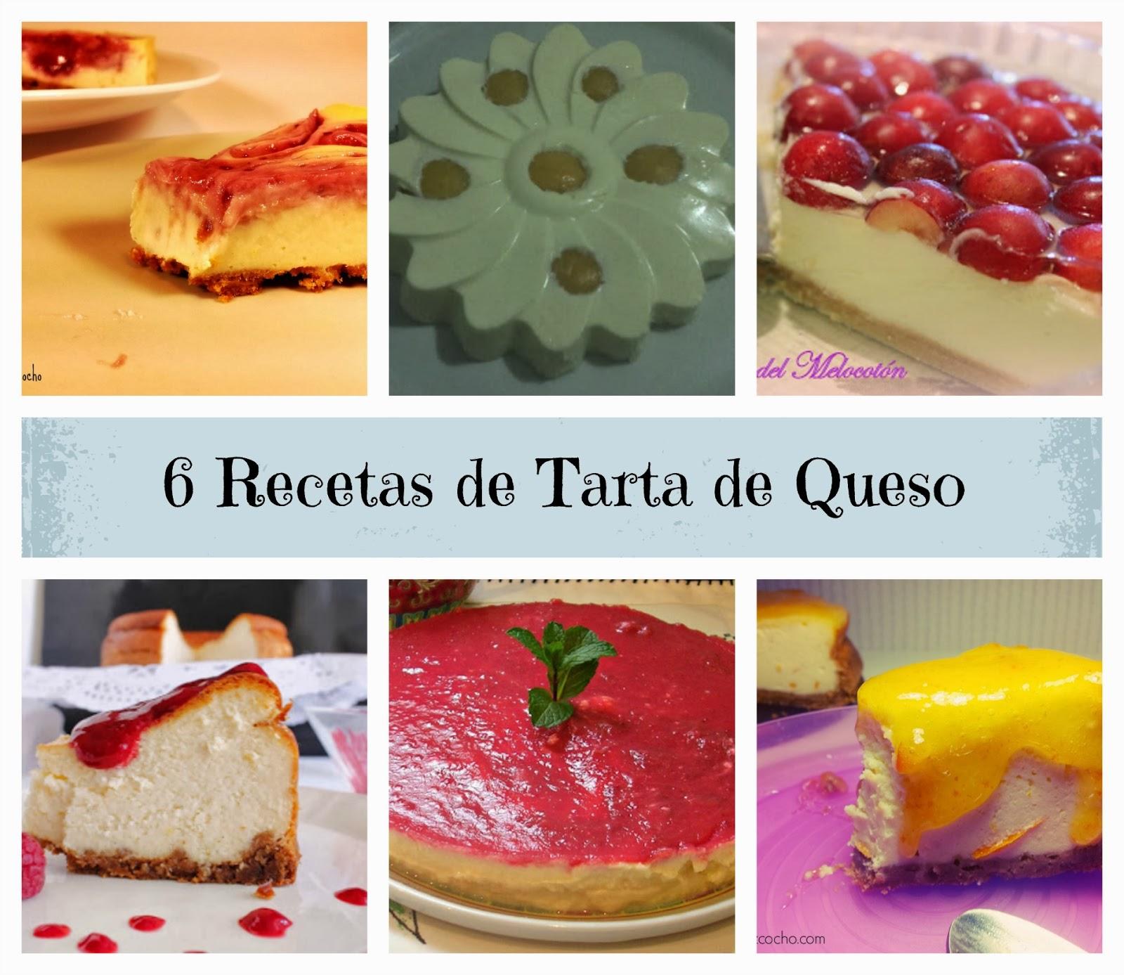 Recetas de tarta de queso