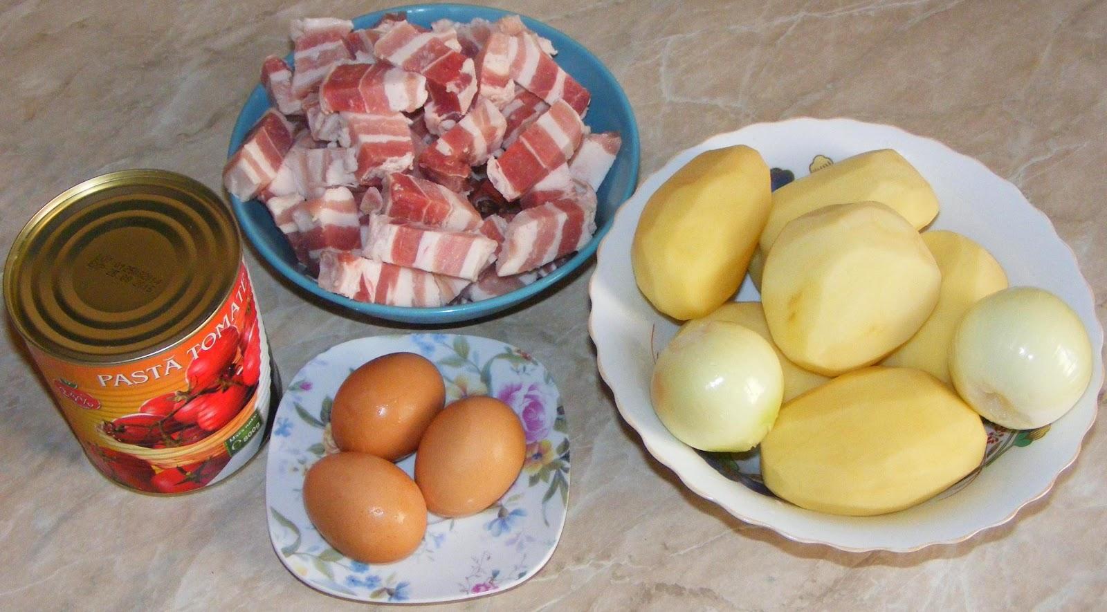 ingrediente musaca, ingrediente musaca de cartofi cu carne tocata, reteta musaca, musaca reteta, cum se prepara musaca de cartofi cu carne tocata,
