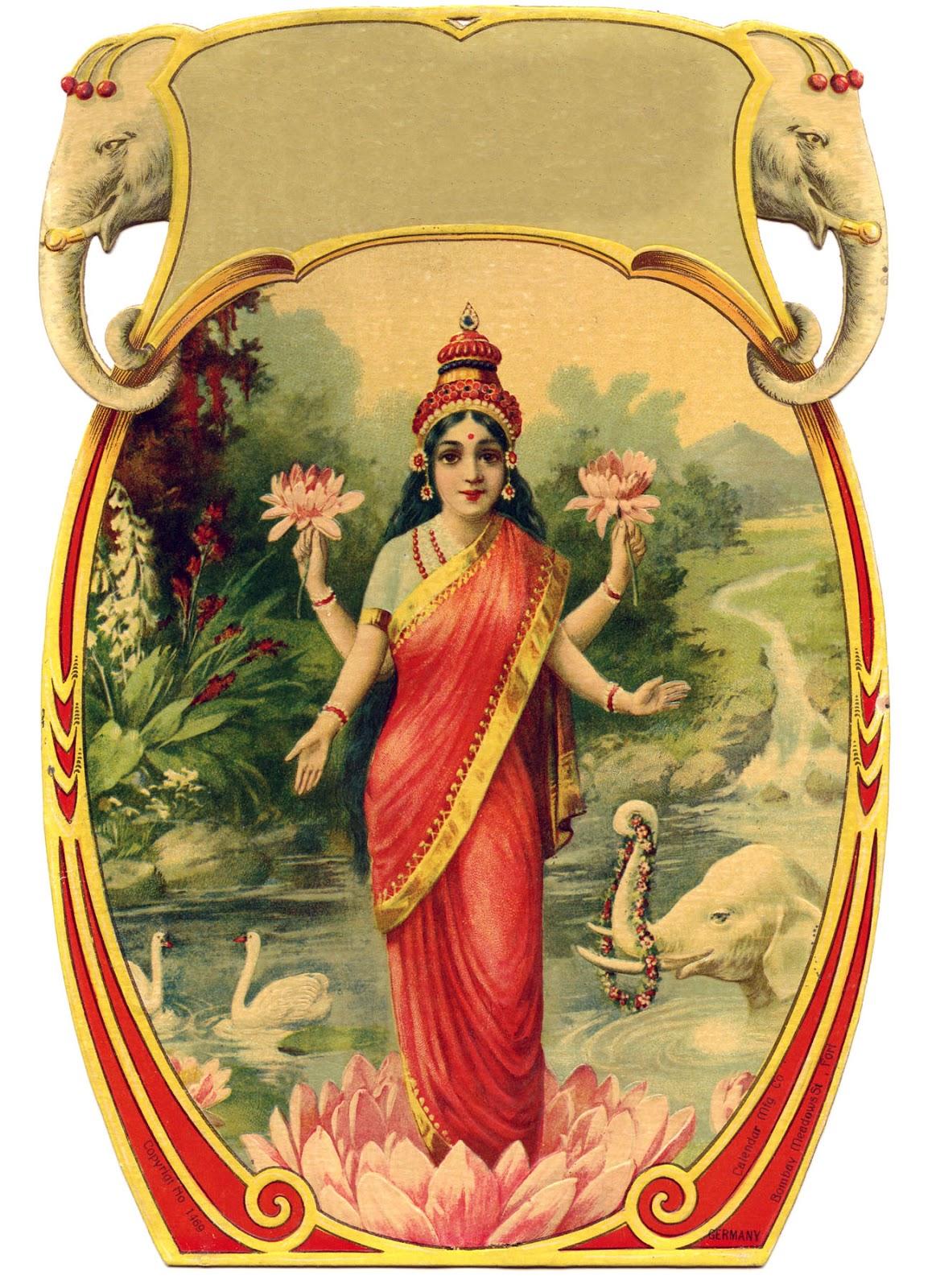 vintage india prints