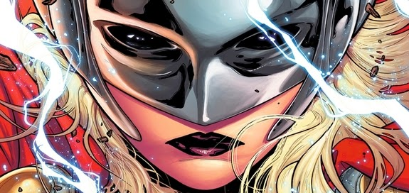 New Female superhero is worthy of picking up Mjolnir