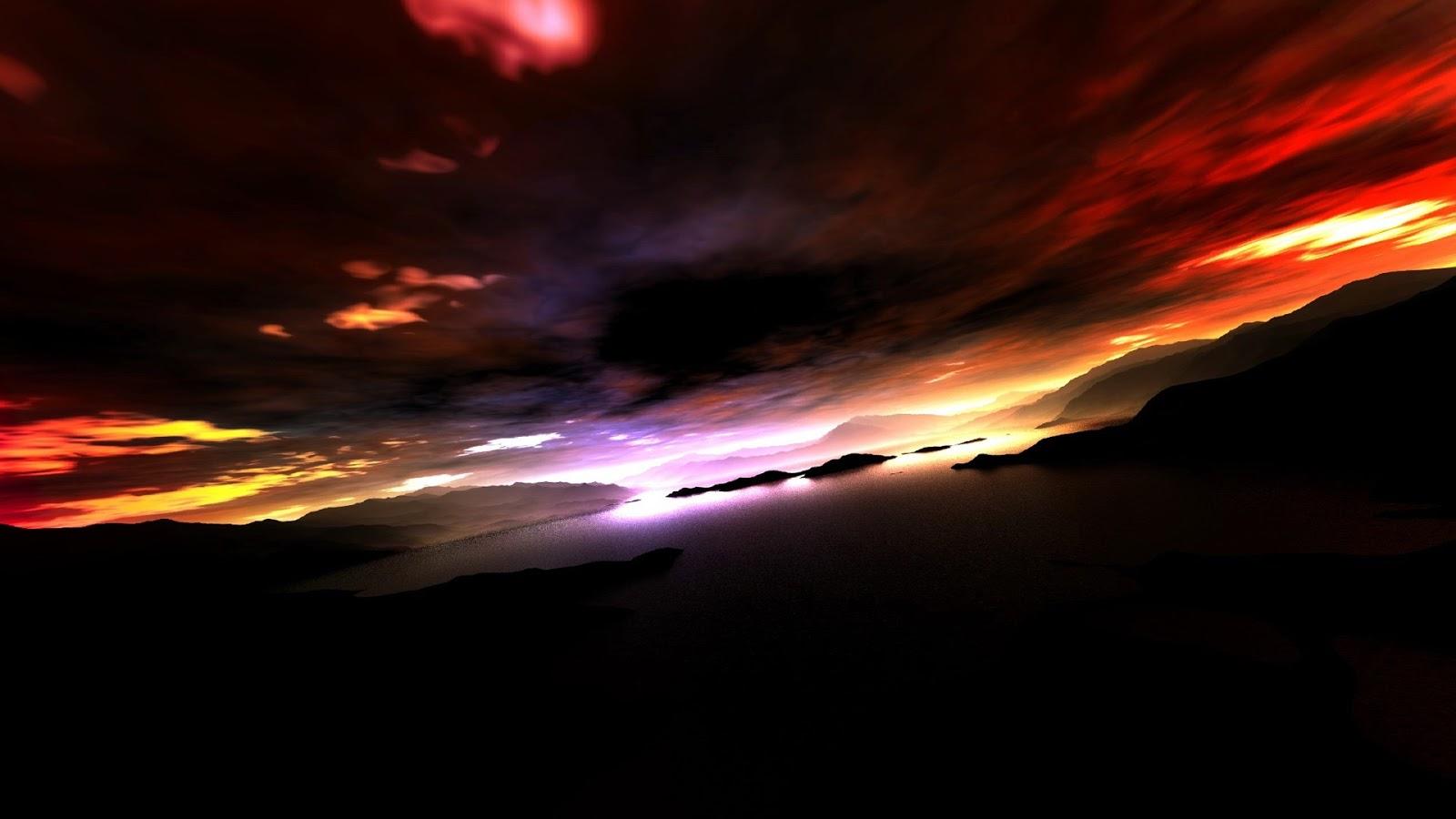 Back Light Sky