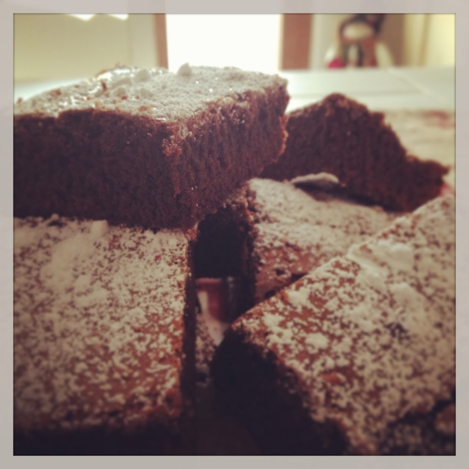 Brownies al cioccolato- shabby&countrylife.blogspot.it