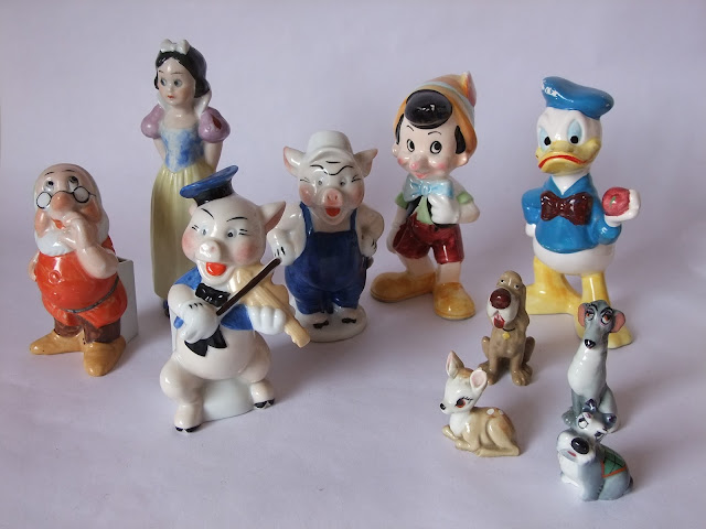 Disneyana vintage collectable Disney figures www.retrotracevintage.co.uk