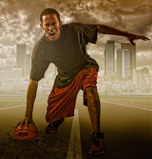 sports portrait tutorial
