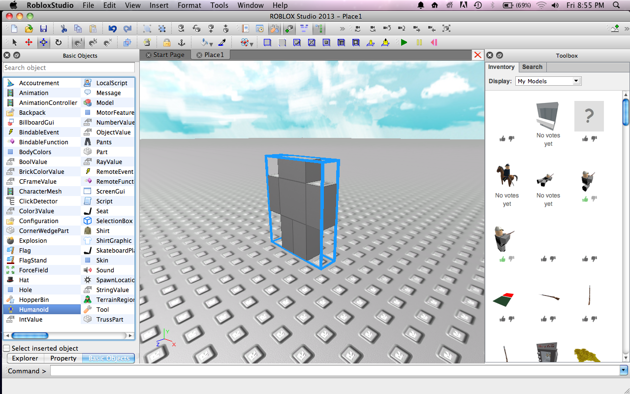 arif ianto how to make a simple roblox person part 1
