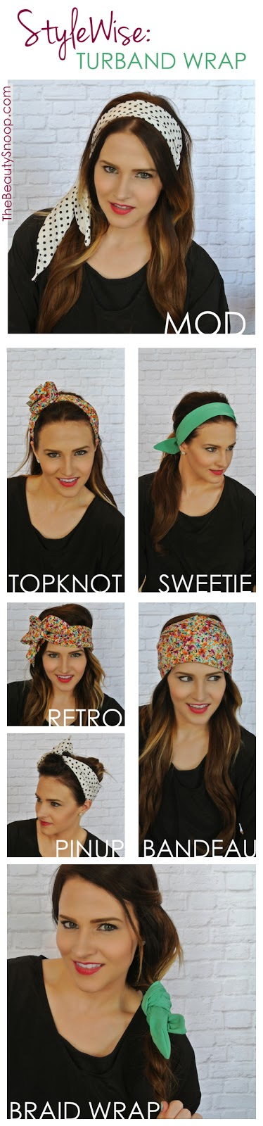 Ways to style a wired headband