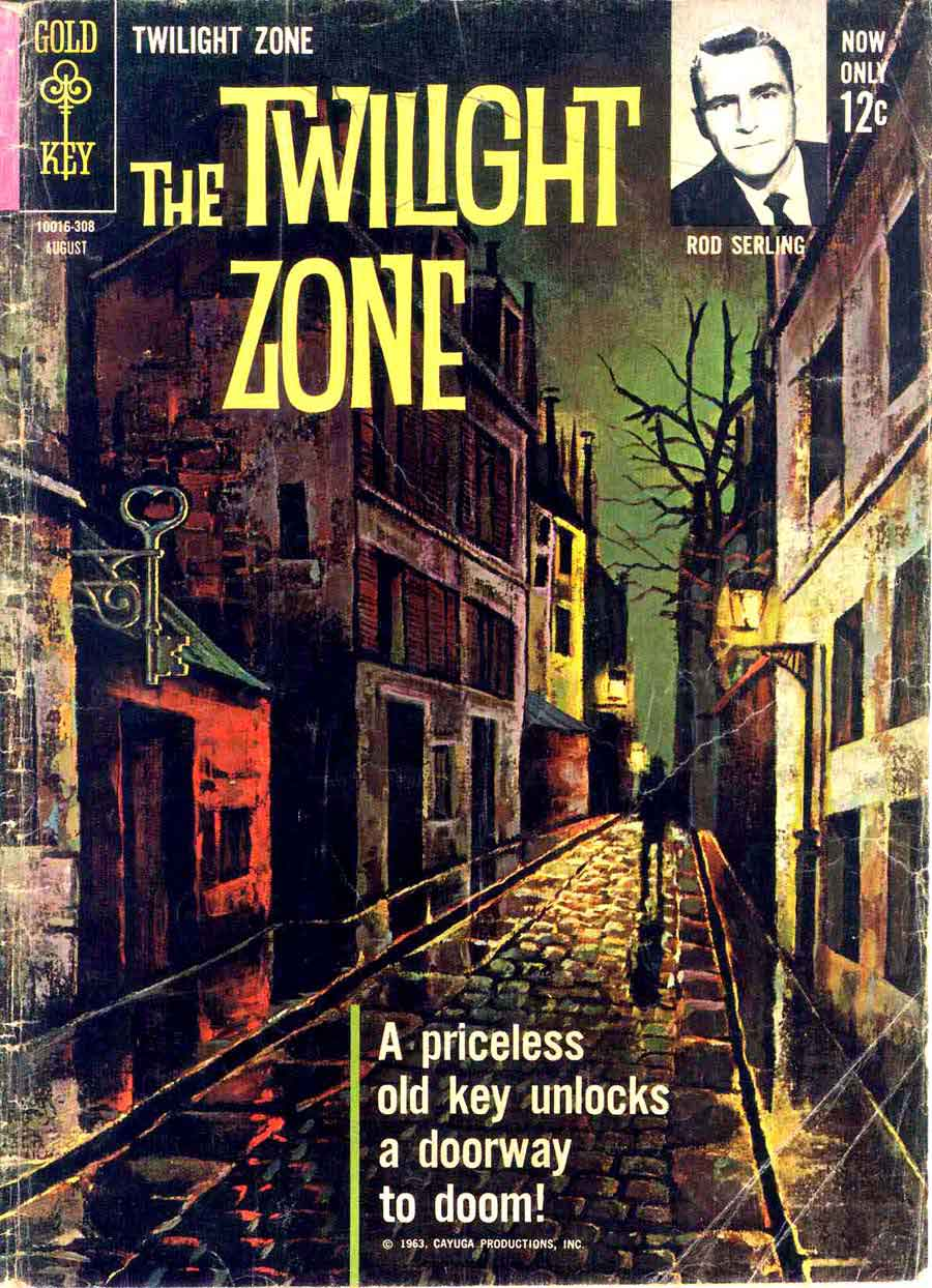 Book Cover Series Zone : Twilight zone alex toth art pencil ink
