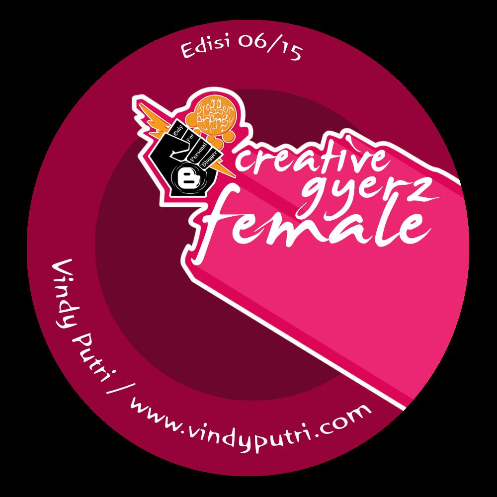 Award Female Blogger di Blogger Energy Edisi Juni 2015