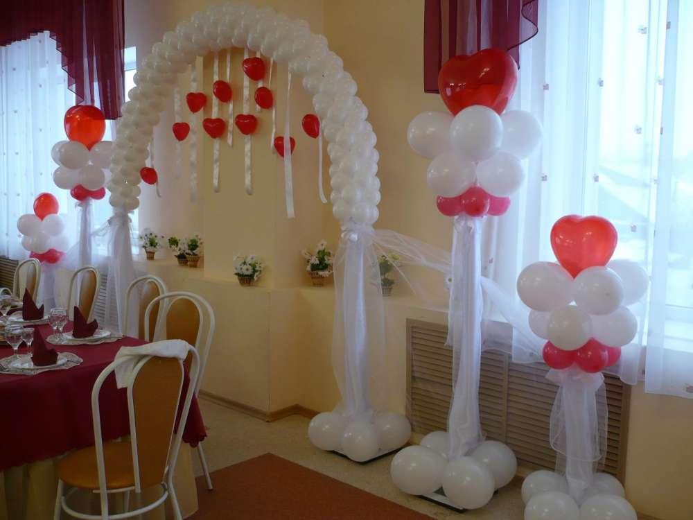 Как оформить с шариками свадьбу