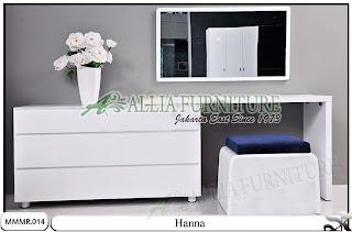 Meja make up rias minimalis modern Hanna