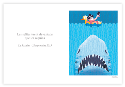 Alex Formika illustration faits divers du Parisien