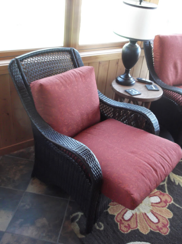Slouchy Outdoor Furniture Cushions Are So Annoying! After You Sit For  Awhile, You Slowly Slip Down In Your Seat. I Was Seriously Considering  Replacing The ...