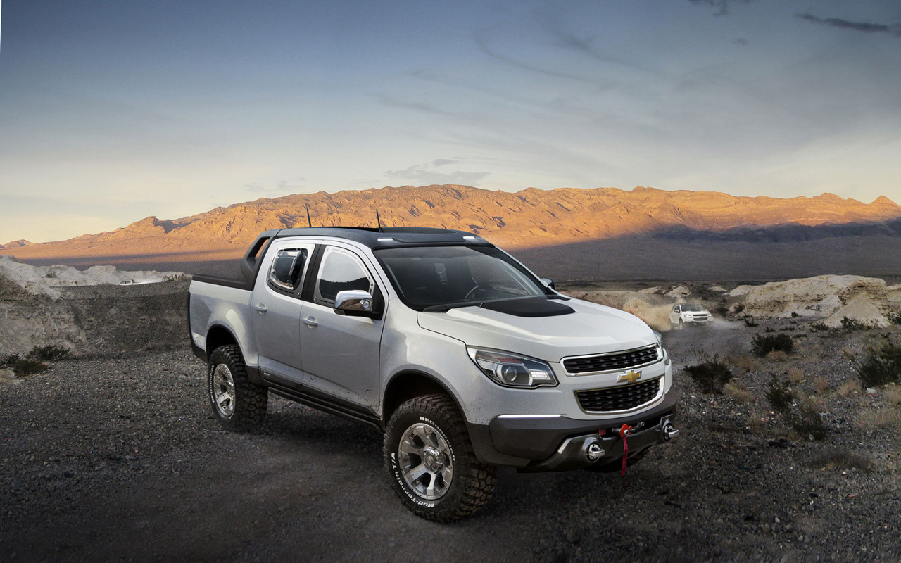 new car chevrolet colorado rally concept truck. Black Bedroom Furniture Sets. Home Design Ideas