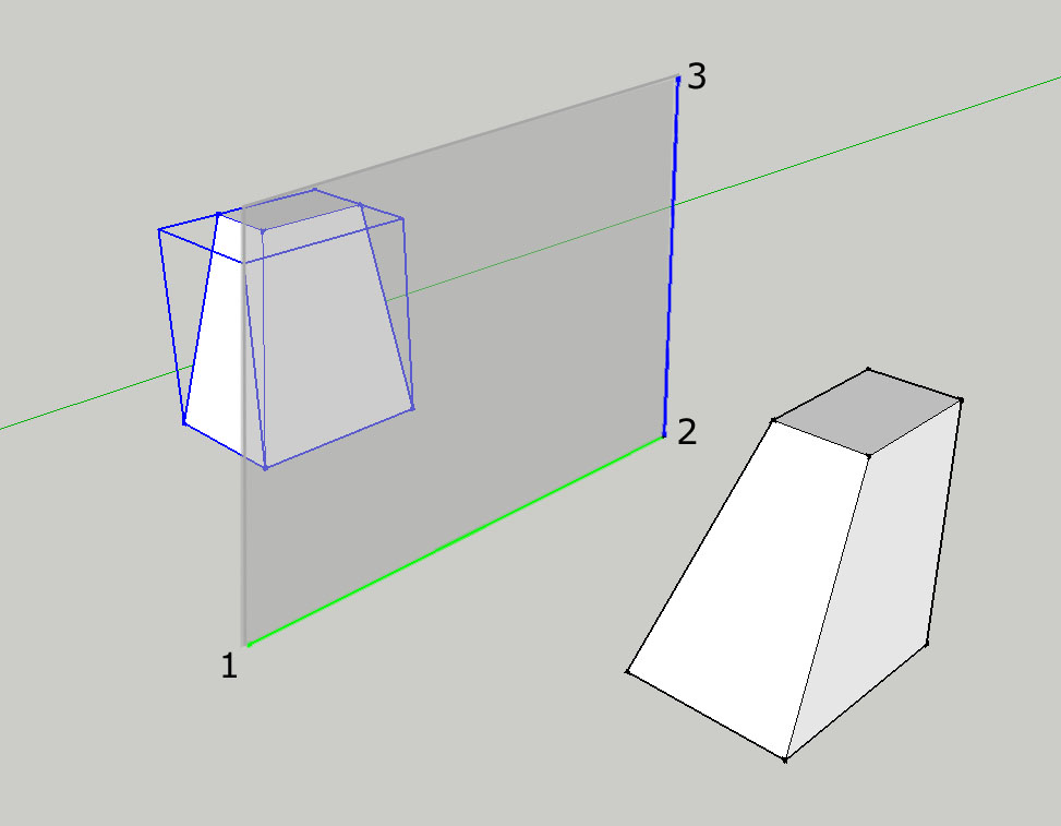 Simo plugin per sketchup mirror for Mirror in sketchup