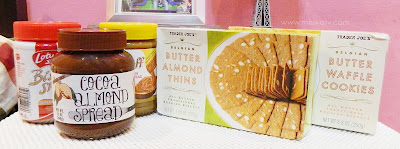 mochi goodies food trader joes review sweet sweets cocoa almond spread lotus butter waffle cookie almond thin freebie hot giveaway delicious dessert comment feedback shop