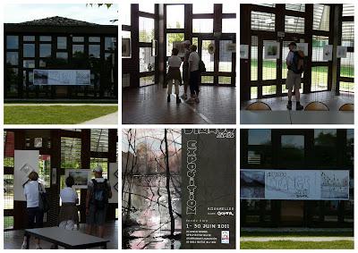 Exposition aquarelles lac du der au fil de l 39 aube histoire d 39 une mise en seine - Office tourisme lac du der ...