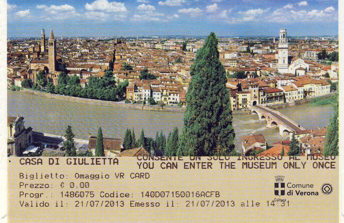 Verona :  Casa di Giulietta