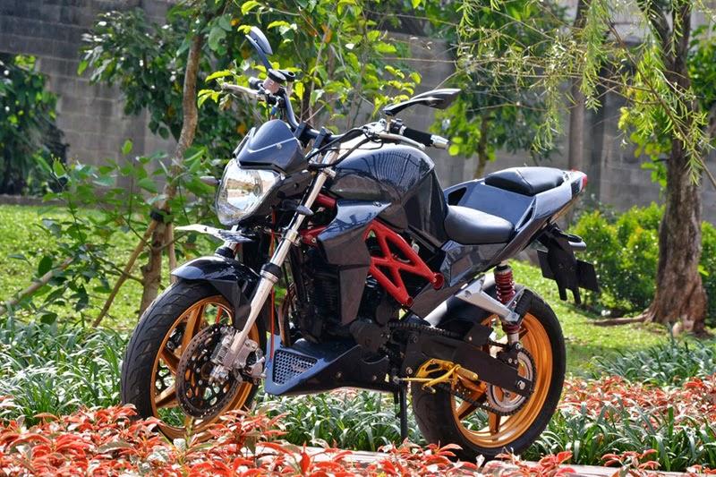 Modifikasi Honda Tiger Revo Monster VR46