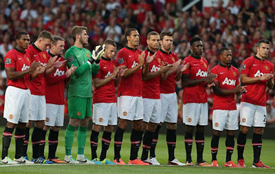 First Home XI Manchester United v Chelsea 2013