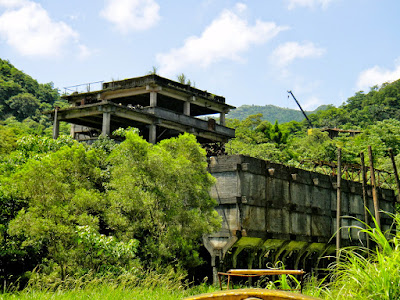 Taiwan Abandoned Coal Mine Museum Shifen