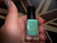 Elegant Touch, Elegant Touch Nail Wraps, What are Nail Wraps, Barry M Nail Paint, Mint Green Nail Polish