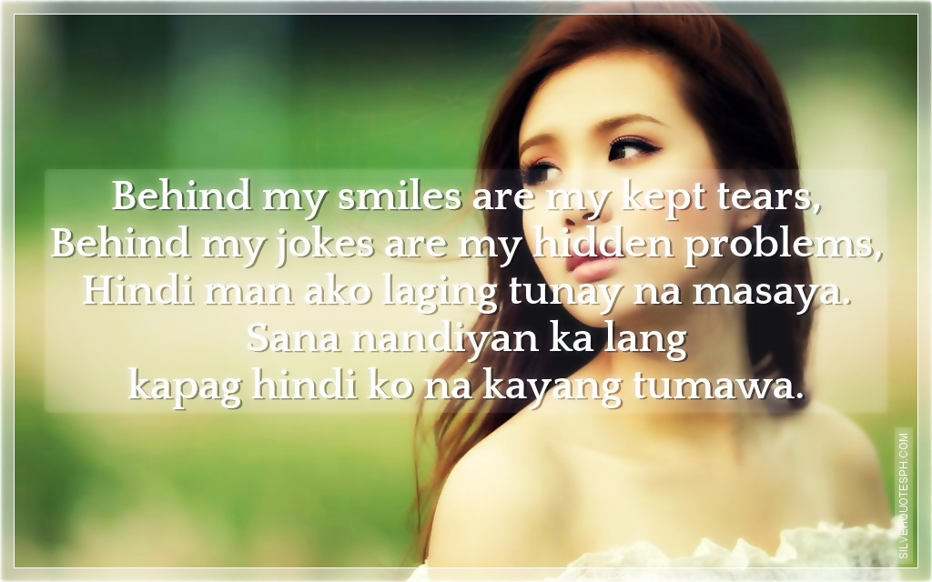 Behind My Smile Are My Kept Tears - SILVER QUOTES