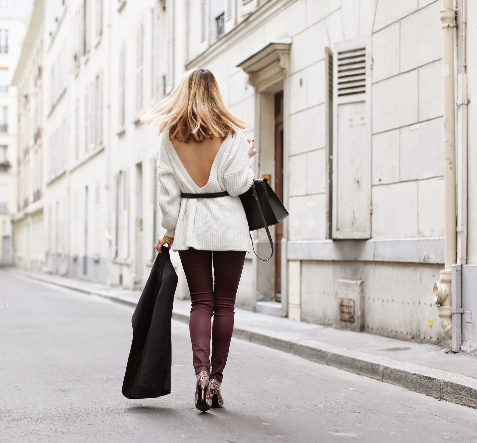 back, streetstyle, fashion blogger, paris, zara, hermès, vanessa bruno