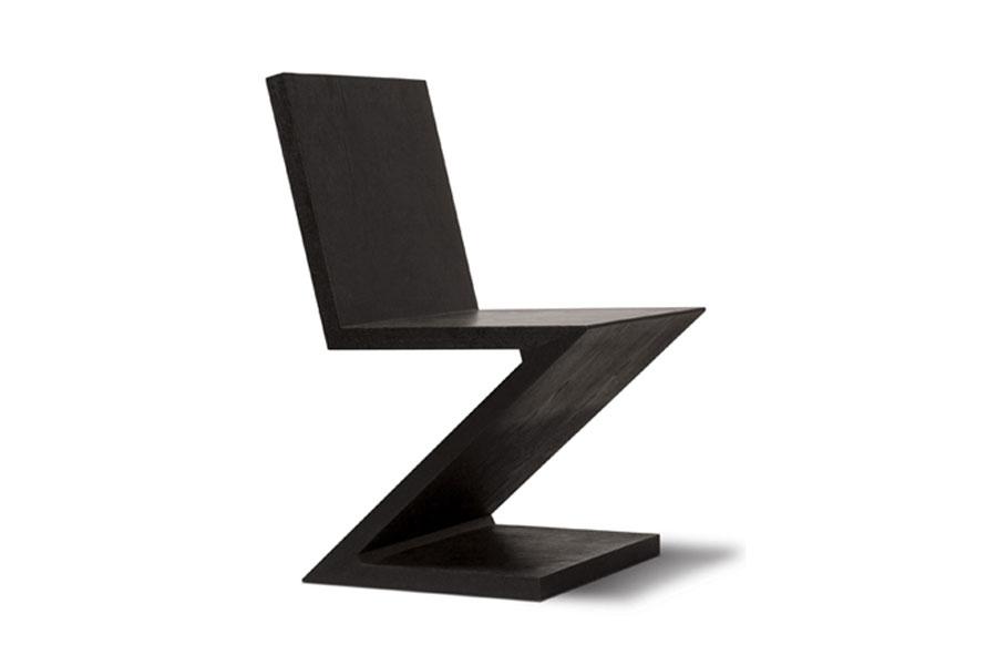 Stoel Gerrit Rietveld : Lookslikedesign: zigzag chair gerrit rietveld very berry mint