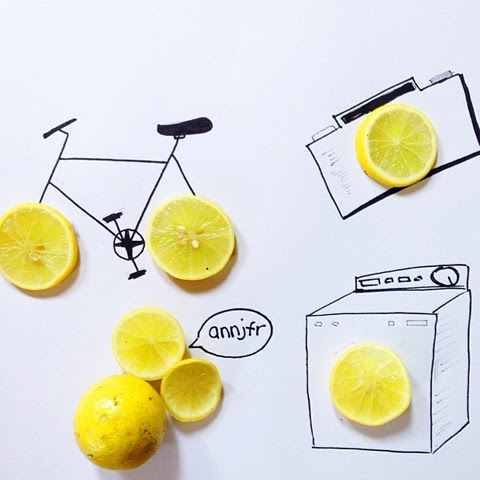 Blending Everyday Objects With Illustration Ann Jaafar