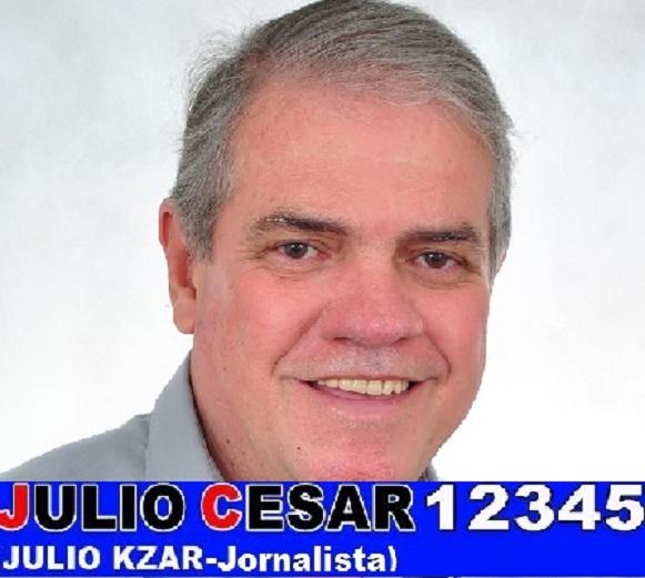 JULIO KZAR JORNALISTA PARA VEREADOR