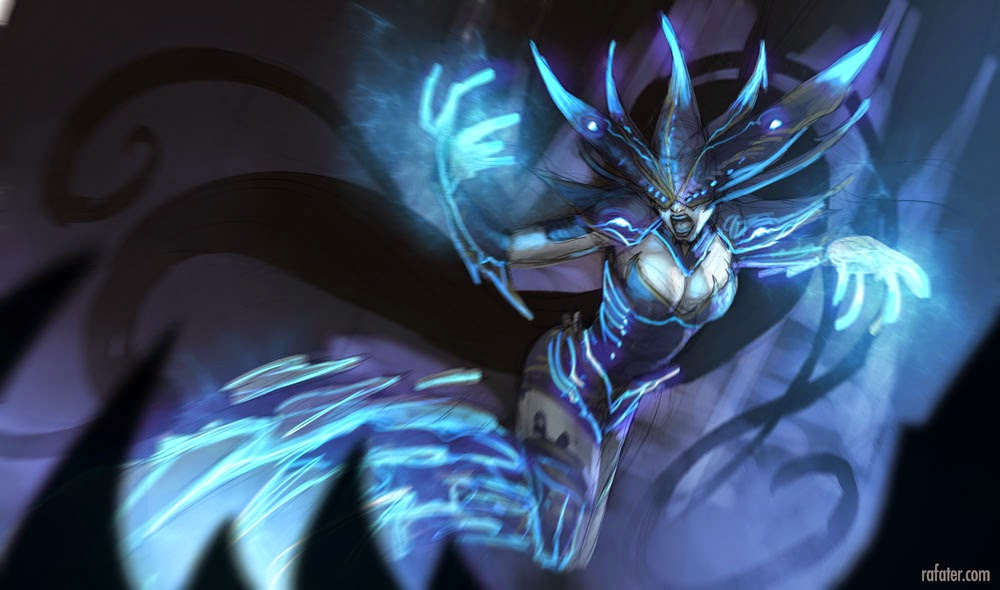 Lissandra color study by Rafater