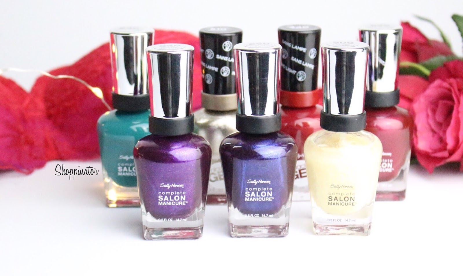 Sally Hansen – 'Holiday' Winter LE – Swatches