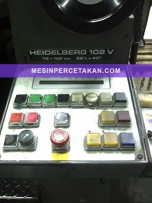 Heidelberg Speedmaster 102v
