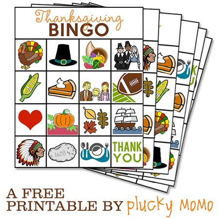 Massif image with regard to free printable thanksgiving bingo cards