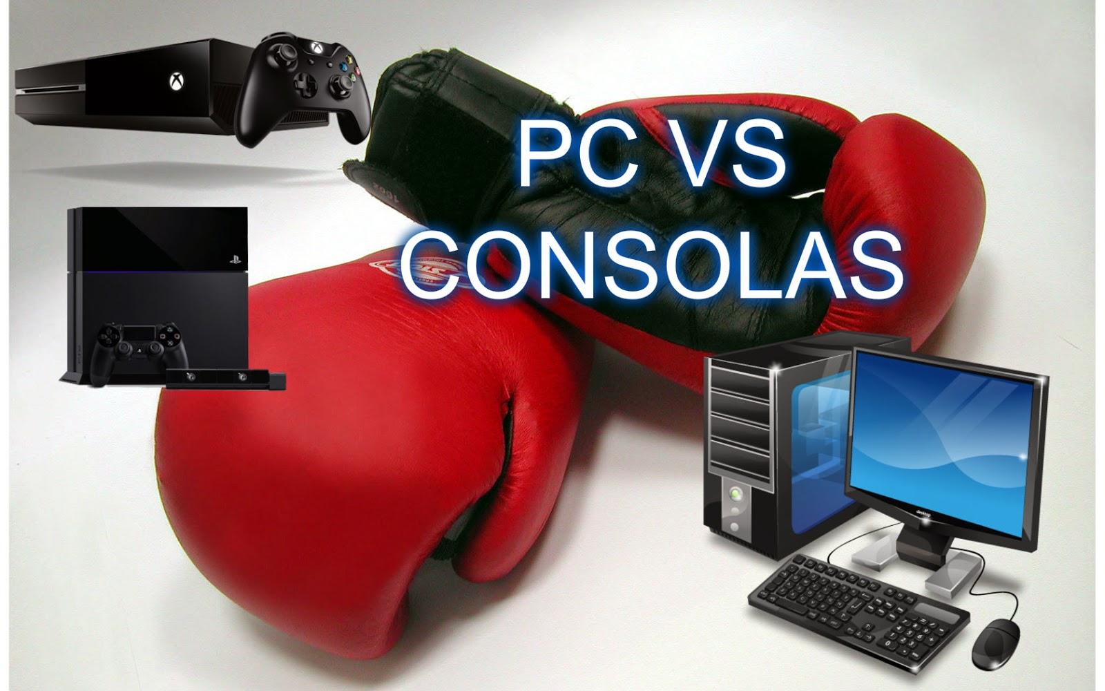 Ventajas de Jugar en PC y de Jugar en Consolas