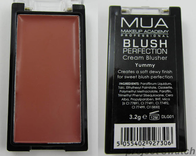 MUA Blush Perfection Cream Blusher Yummy