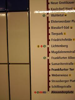 u bahn station frankfurter tor