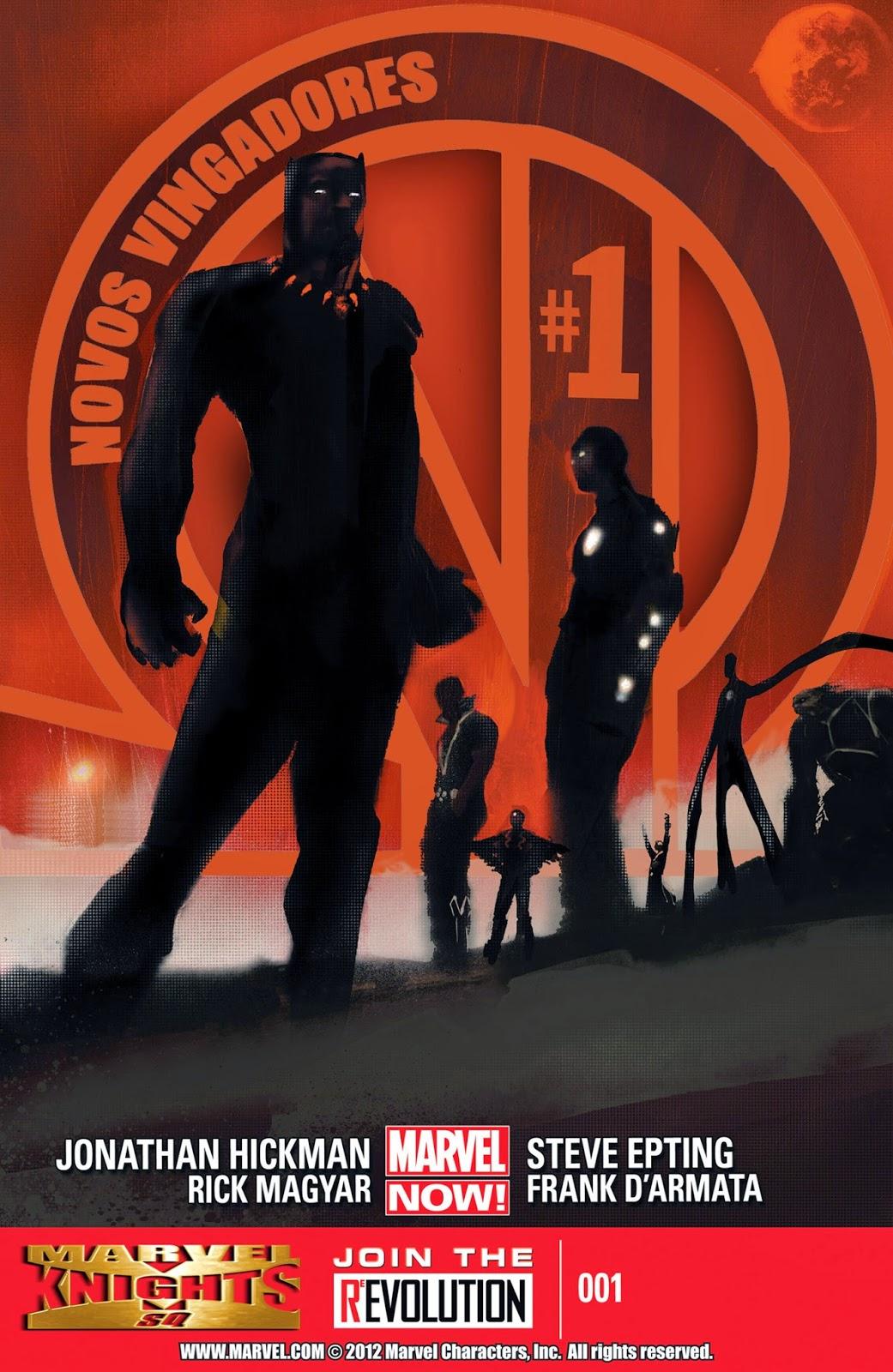 Nova Marvel! Os Novos Vingadores #1