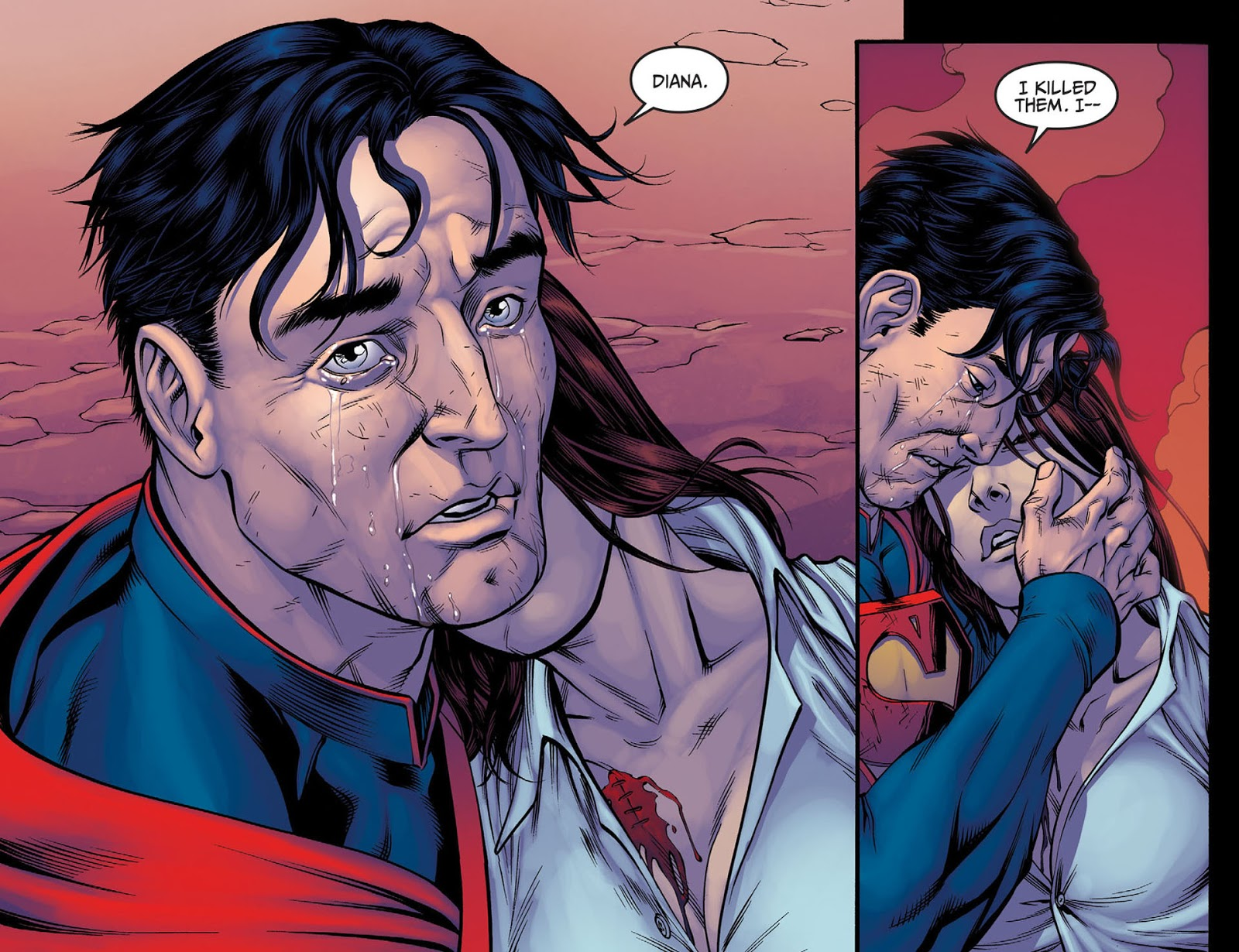 COMIC BOOK FAN AND LOVER: INJUSTICE: DIOSES ENTRE NOSOTROS # 4 - DC ...