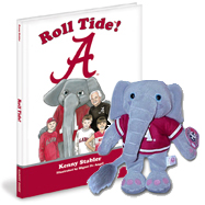 Alabama Crimson Tide NCAA Mascot Book Combo Roll Tide!