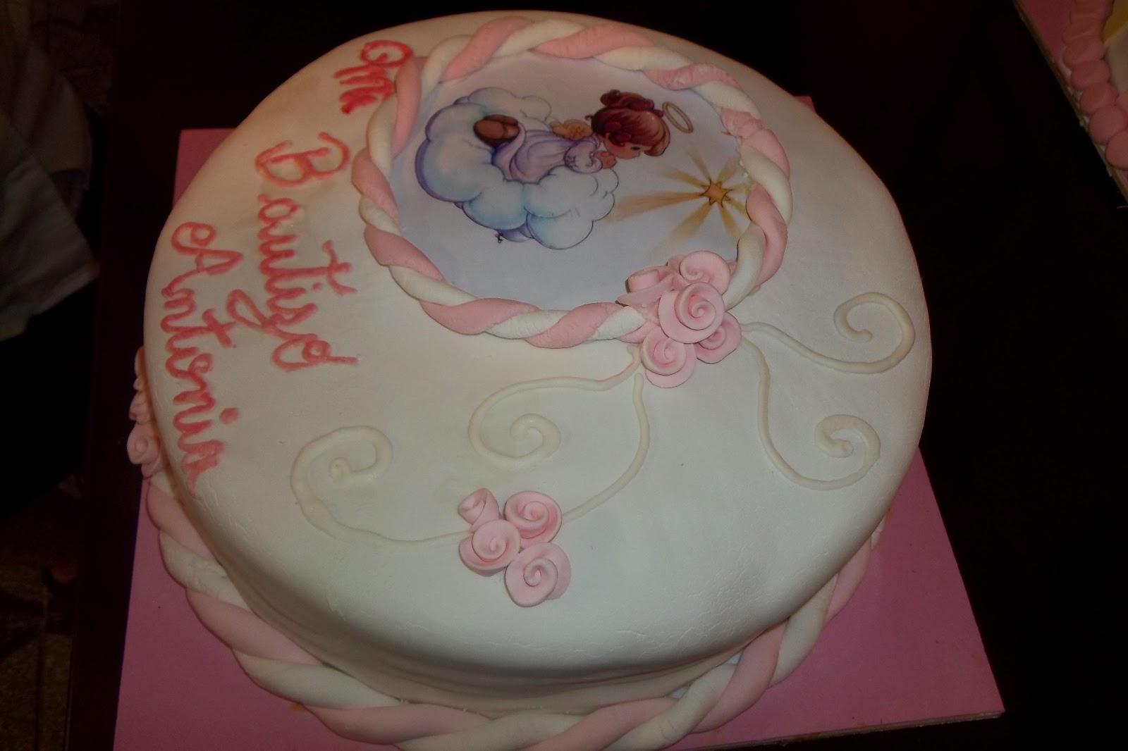 Torta De Bautizo Para Nina