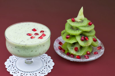 Kiwi cocktail and Kiwi Christmas Tree