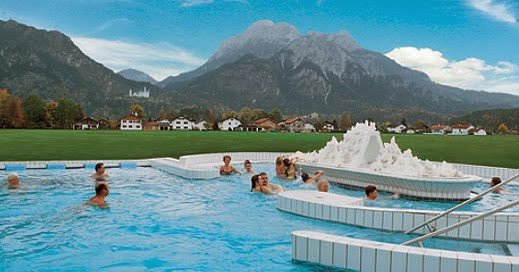 Kristalltherme Schwangau  Swimming pool - Sauna - Wellness neuschwanstein