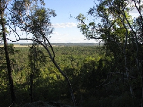 View from Sandstone Caves, Pillbara