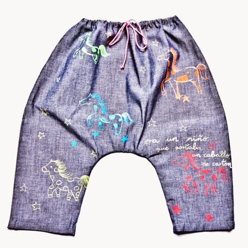 pantalón original bebé niño niña