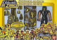 Propaganda dos bonecos da série 'Os Cavaleiros do Zodíaco' em 1994.