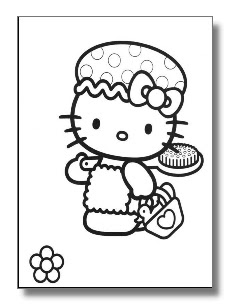 Coloriages enfants hello kitty colorier - Colorier kitty ...