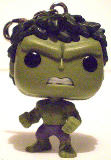 Front of Hulk Pocket Pop Keychain without keyring