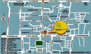 Peta Wisata Yogyakarta Terbaru Lengkap dan Gratis
